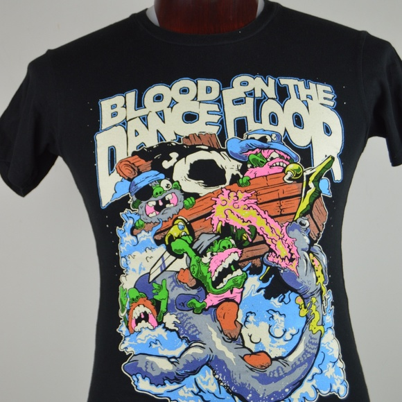 Blood On The Dance Floor Xs Graphic Black T Shirt